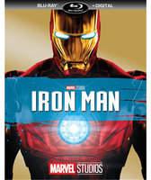 Disney Iron Man Blu-ray + Digital Copy
