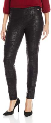 Calvin Klein Women's Embossed Ponte Legging