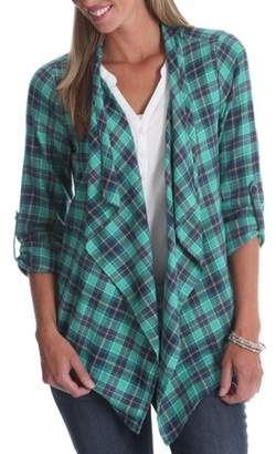 Fly London Lee Riders Women's Plaid Away Top