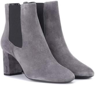 Saint Laurent Loulou suede ankle boots
