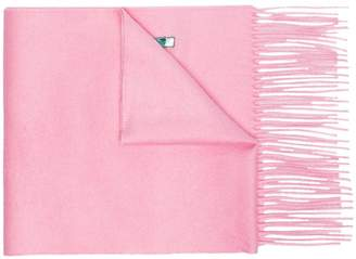 Gucci pink silk cashmere-blend scarf with sequin Guccy