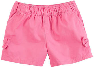 Carter's Solid Bow Detail Pull-On Shorts - Toddler Girl 2T-5T