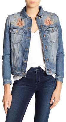 Mavi Jeans Katy Rose Embroidered Denim Jacket