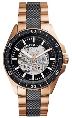 Fossil Sport Automatic Bracelet Watch, 44Mm $265 thestylecure.com