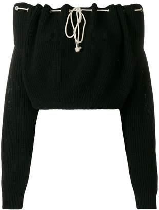 Calvin Klein off-shoulder pullover