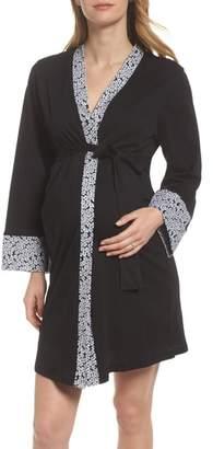 Belabumbum Kyoto Maternity Short Robe