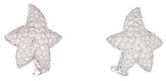 Marlene Stowe 18K Diamond Star Earrings