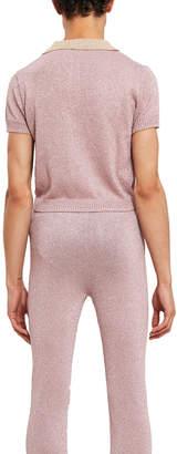 Lazoschmidl Justin Lurex Polo Shirt