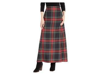 Pendleton Long Plaid Skirt