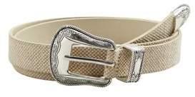 MANGO Cowboy Textured Belt