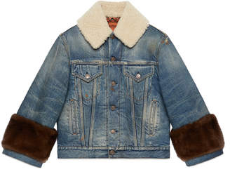 """""""Soave Amore Guccification"""" denim jacket"""
