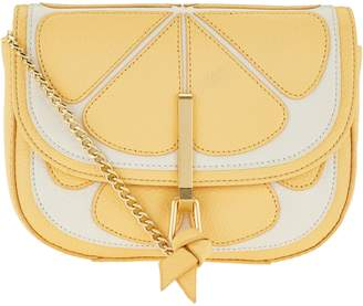 Vera Bradley Sycamore Leather Novelty Mini Saddle Bag