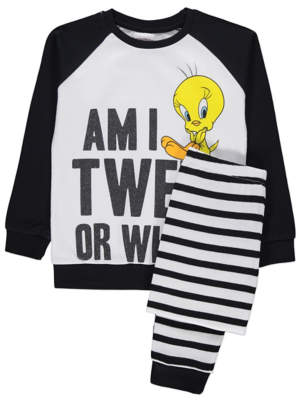 George Looney Tunes Tweetie Pie Pyjamas