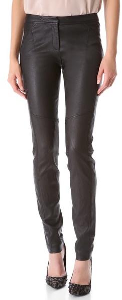 Diane von Furstenberg Liberty Leather Pants