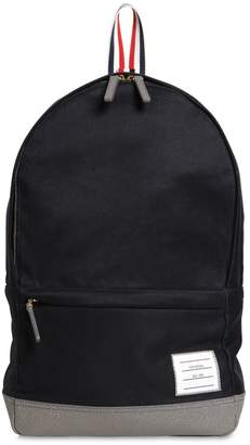Thom Browne Unstructured Cotton Twill Backpack
