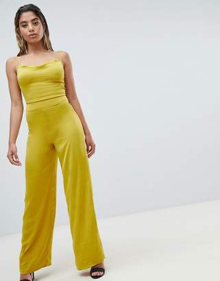 Missguided Wide Leg Jumpsuit