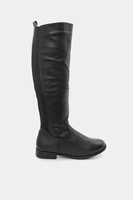 Ardene Elastic Back Knee-High Boots