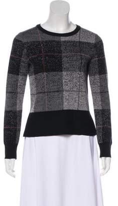 Rag & Bone Plaid Merino Wool Sweater