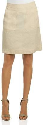 Foxcroft Patch-Pocket Skirt