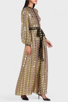 Temperley London Letter Print Dress