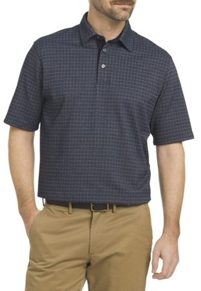 Arrow Men's Big And Tall Short Sleeve Hamilton Polo