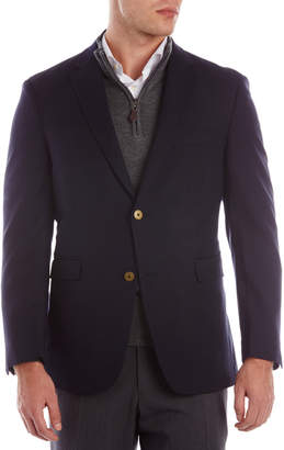 Tommy Hilfiger Navy Oscar Two-Button Blazer