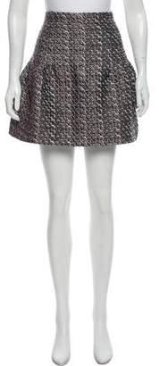 Nina Ricci Jacquard Mini Skirt