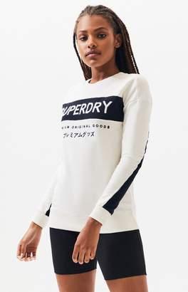 Superdry Jaylah Mono Crew Neck Sweatshirt