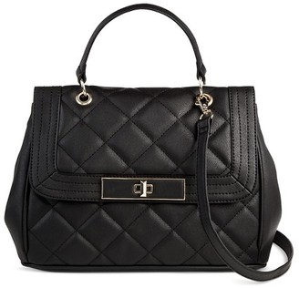 Mossimo Women's Quilted Satchel Handbag - Mossimo $39.99 thestylecure.com