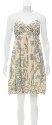Stella McCartney Printed Ruched Dress