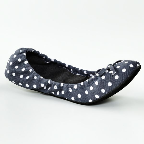 JLO by Jennifer Lopez Restricted dots ballet flats - women