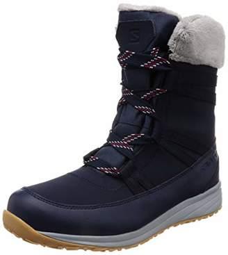 Salomon Men's Heika LTR Cs Wp Low Rise Hiking Boots, Blue Navy Blazer/Beet Red