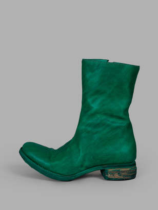 A Diciannoveventitre WOMENS GREEN BOOTS
