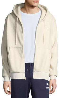 Puma Men's x Big Sean Fleece Zip-Front Hoodie