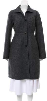 Narciso Rodriguez Tailored Wool Coat