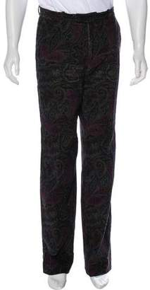 Etro Paisley Print Dress Pants