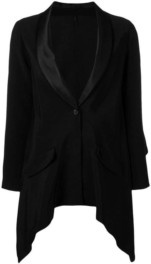 Unravel Project tuxedo-style blazer