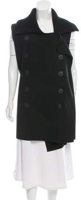 Jean Paul Gaultier Double-Breasted Virgin Wool Vest