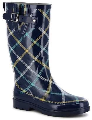 Western Chief Petite Plaid Waterproof Rain Boot