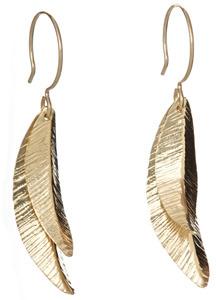 Arcatus Jewelry Gold Fill Petal Earrings