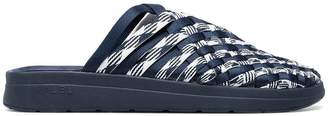 Missoni Navy Blue Malibu Sandals