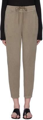 James Perse 'Vintage' overlock stitching SupimaCotton sweatpants