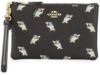 Coach small wristlet clutch