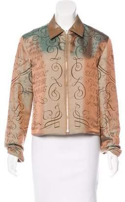 Hermes Reversible Zip-Up Jacket