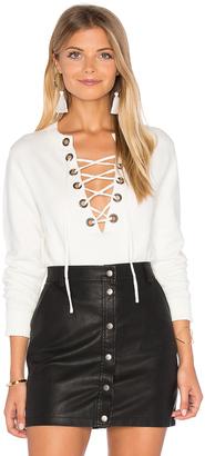 Line & Dot Lea Grommet Top $110 thestylecure.com
