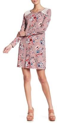 HYFVE Long Sleeve Floral Dress