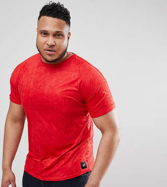 Asos Sixth June T-Shirt In Red Suedette exclusive to