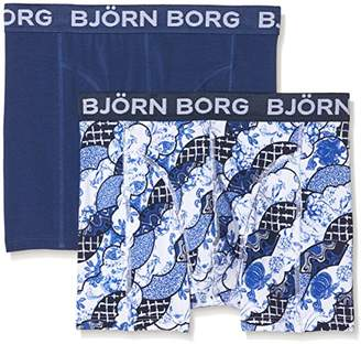 Bjorn Borg Men's 2p Shorts Bb Porcelain Shade Boxer,X-Small
