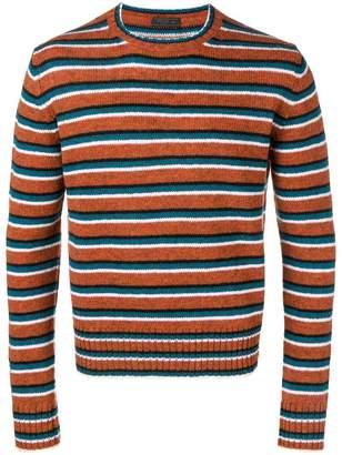 Prada horizontal stripe jumper