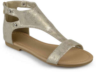 Journee Collection Bevin Flat Sandal - Women's